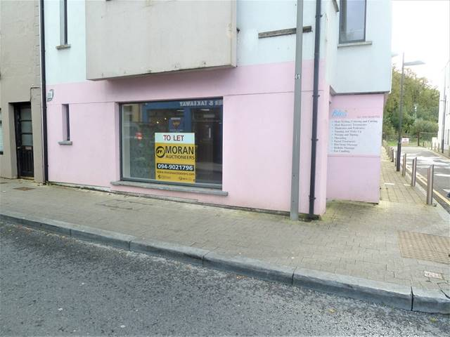 To Lease Ground Floor Unit, Castle Street, Castlebar, Co. Mayo