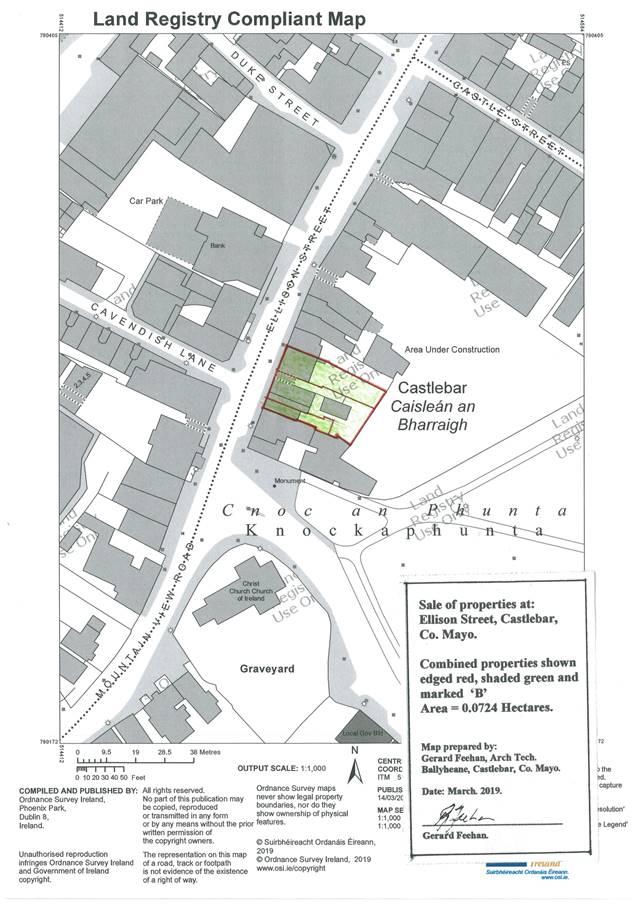 Excellent Development Opportunity, Ellison Street, Castlebar, Co. Mayo