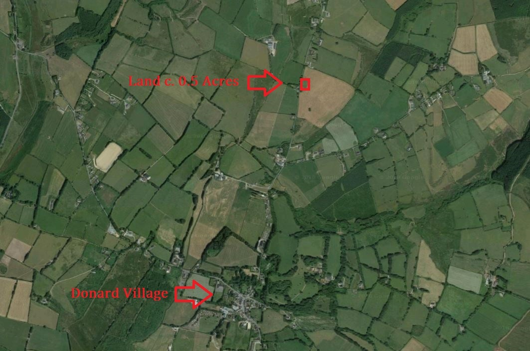 Land C. 0.5 Acres, Glen Road, Donard, Co. Wicklow