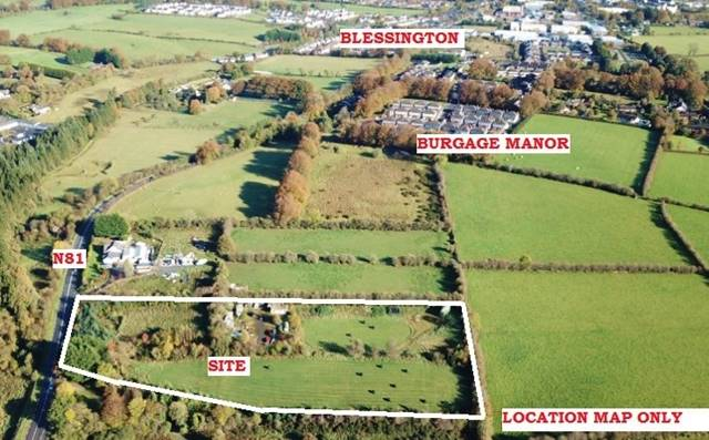 Yard On C. 4.4 Acres/ 1.81 Ha., Burgage Moyle, Blessington, Co. Wicklow