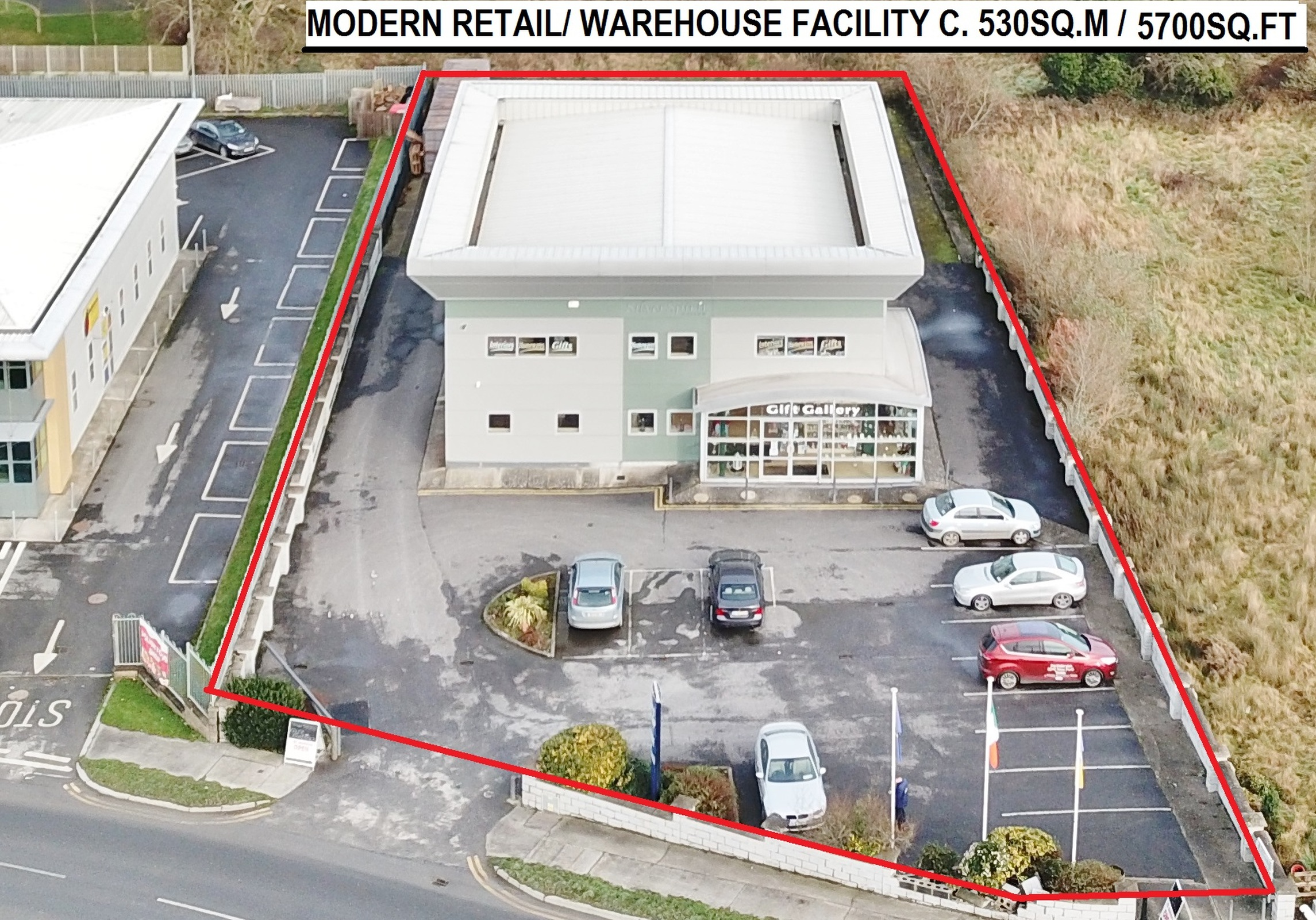 Modern Retail/ Warehouse Facility C. 530 Sq. M/ 5,700 Sq. Ft., On 0.47 Acres/0.2 Ha., Blessington Bu