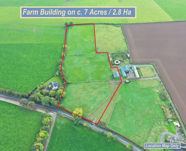 Farm Building On C. 7 Acres/2.8 Ha., Tullylost, Rathangan, Co. Kildare