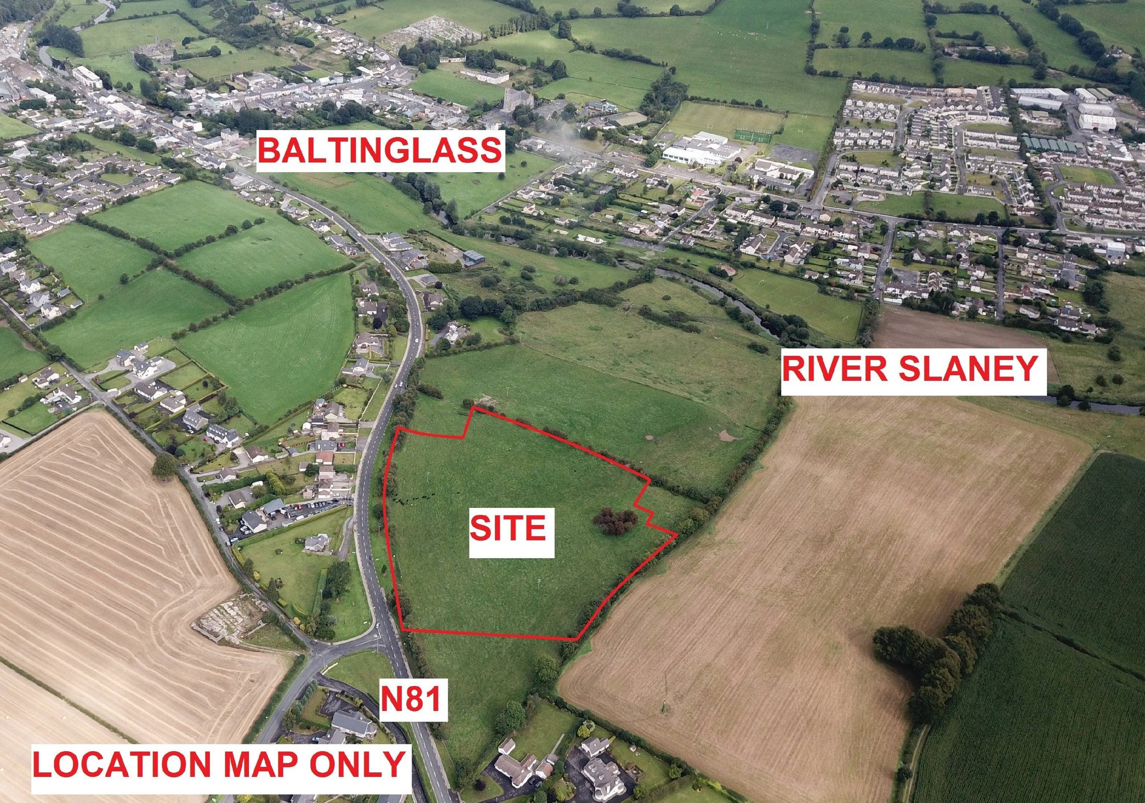 RESIDENTIAL DEVELOPMENT SITE C.9.1 ACRES/3.7 HA WITH FULL PLANNING PERMISSION, Bawnogues, Baltinglas