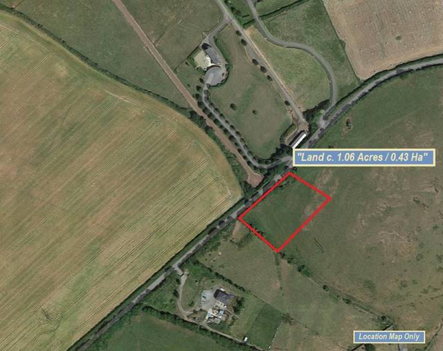 Land C. 0.43 Hectares/1.06 Acres, Folio KE13304F, Boston, Straffan, Co. Kildare