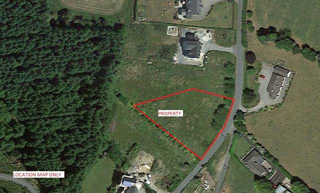 Land C.0.7 Acre/0.28 Ha., Donard Village, Donard, Co. Wicklow
