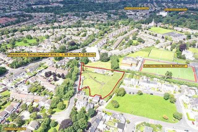 Residential Development Site C. 1.35 Acres/0.55 Ha., Rathfarnham, Dublin 14