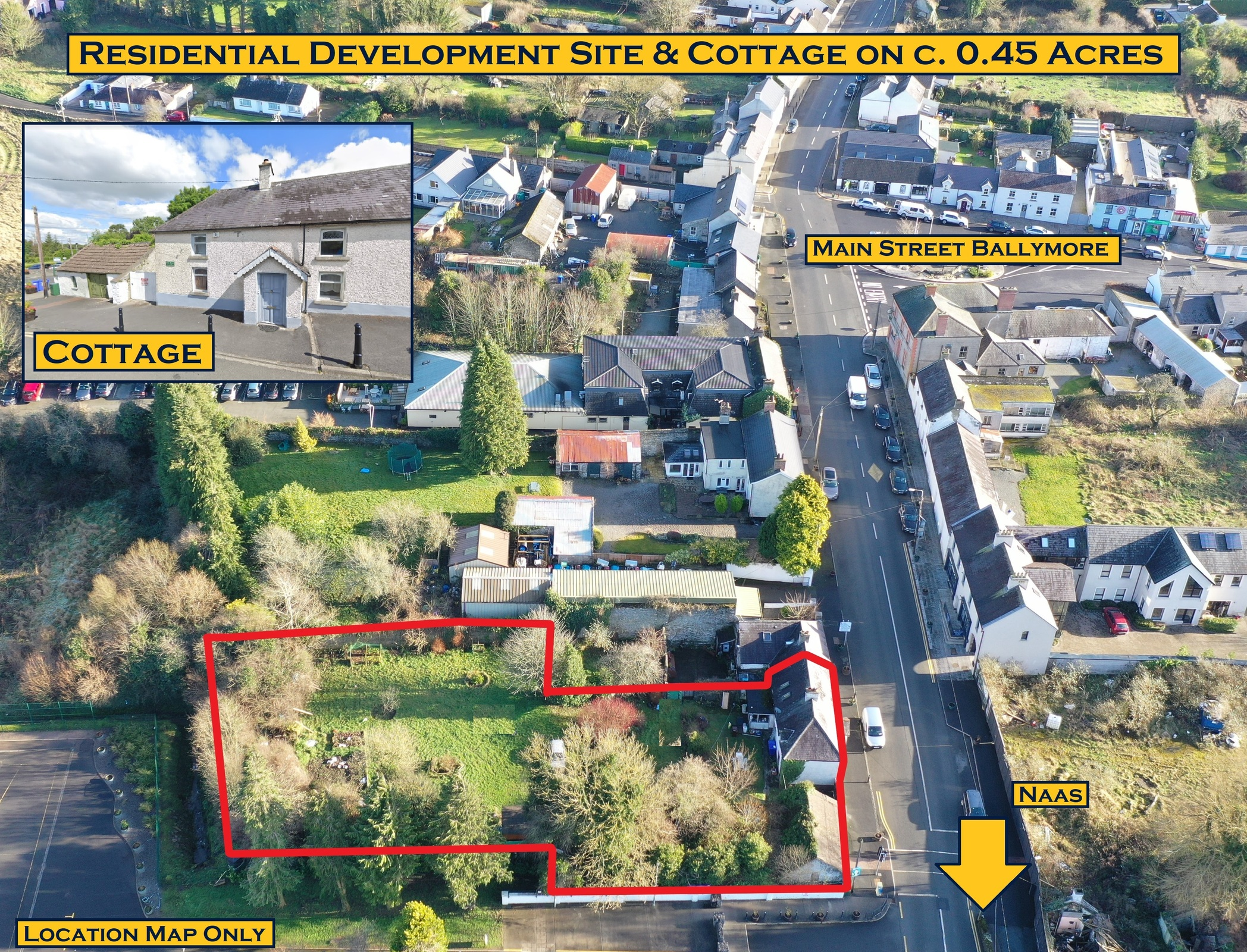 Residence, Cottage & Development Site, Ballymore Eustace, Co. Kildare