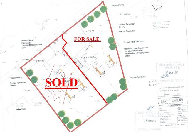 Site For Sale Westport Road, Castlebar, Co. Mayo