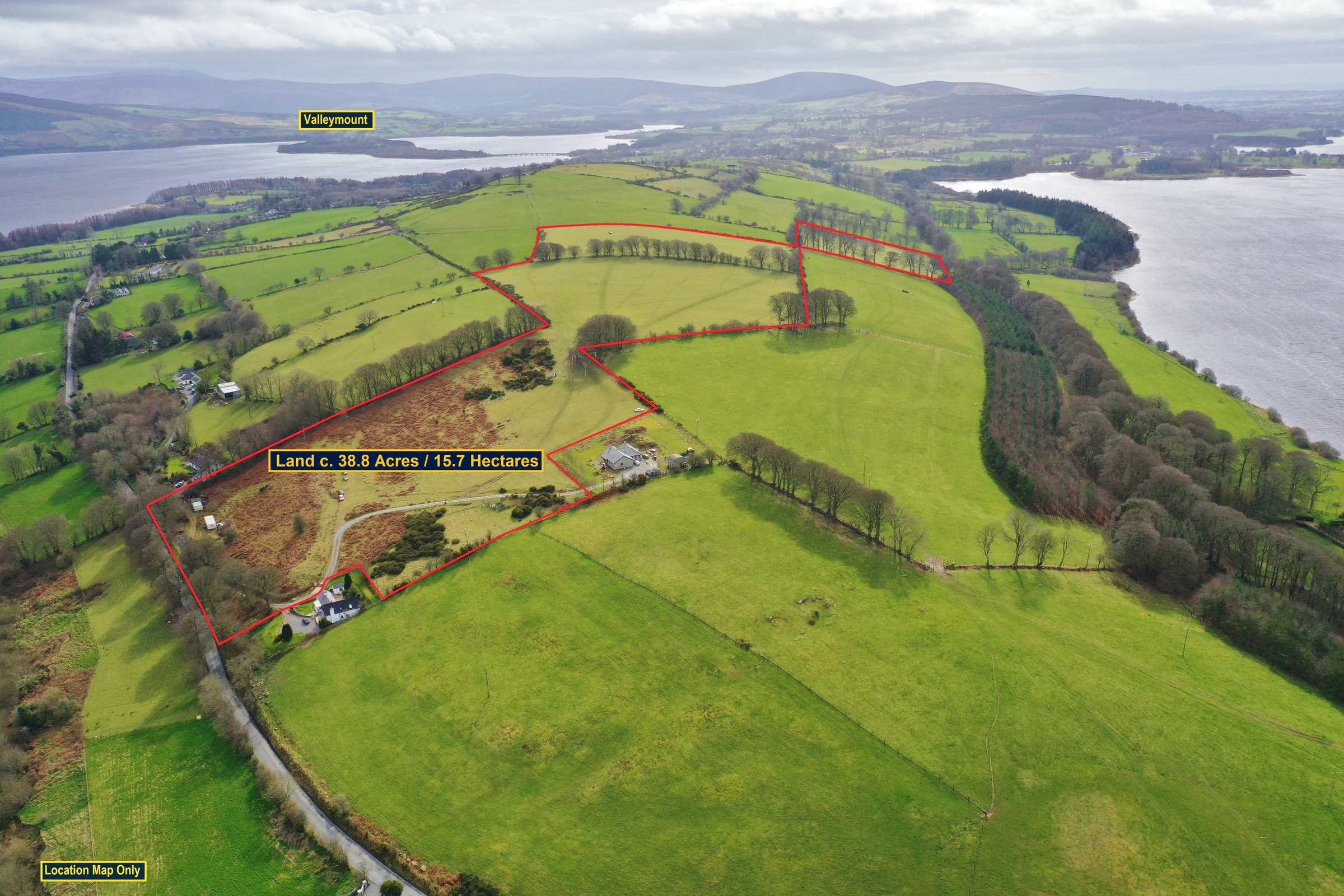Land C. 38.8 Acres, Baltyboys, Blessington, Co. Wicklow