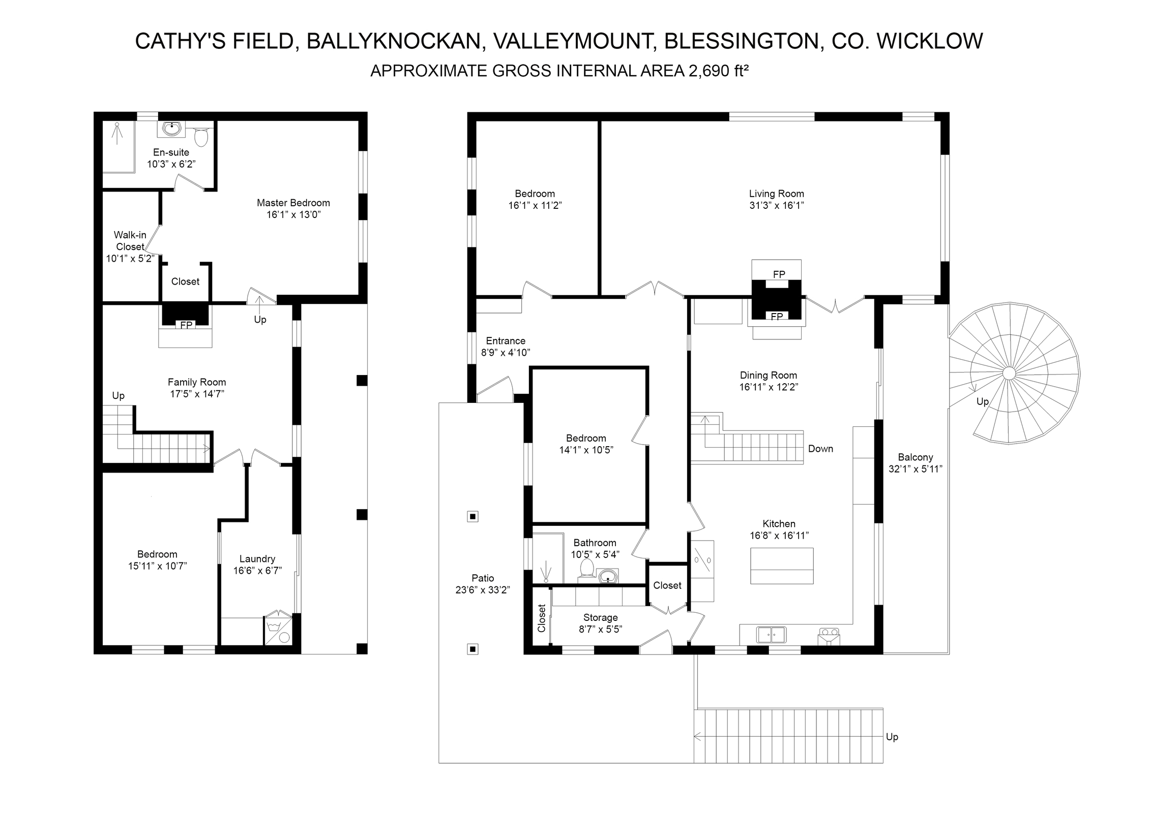 Cathy's Field, Ballyknockan, Blessington, Co. Wicklow