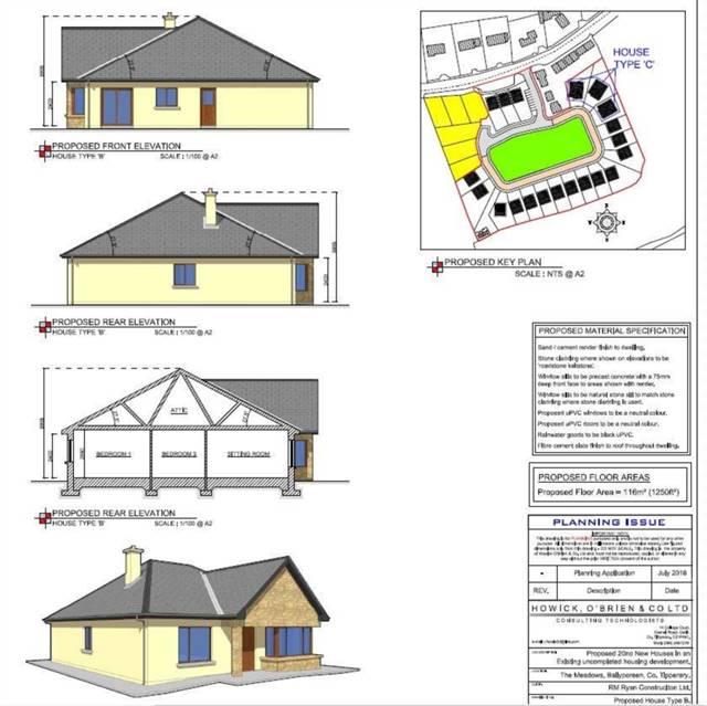 Development land The Meadows, Ballyporeen FPP