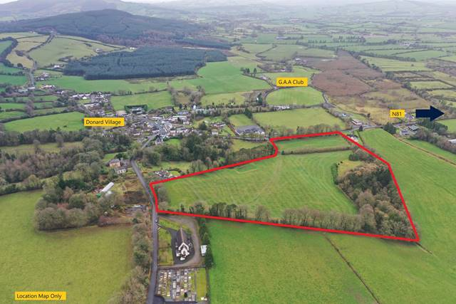 Development Land C. 18.5 Acres / 7.5Ha, Donard Village, Donard, Co. Wicklow