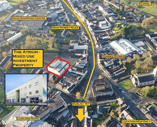 Substantial Mixed-Use, The Atrium, Naas Town Centre, Naas, Co. Kildare