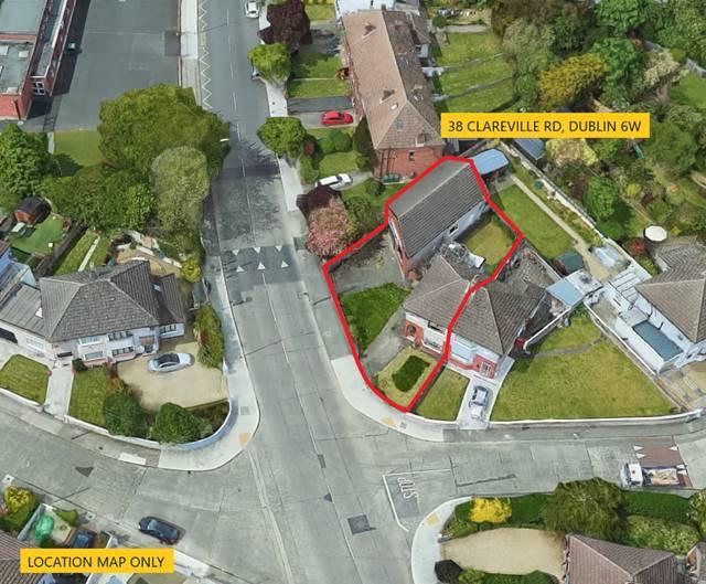 38 Clareville Road & Commercial Unit C.152 Sq.M, Harold's Cross, Dublin 6w