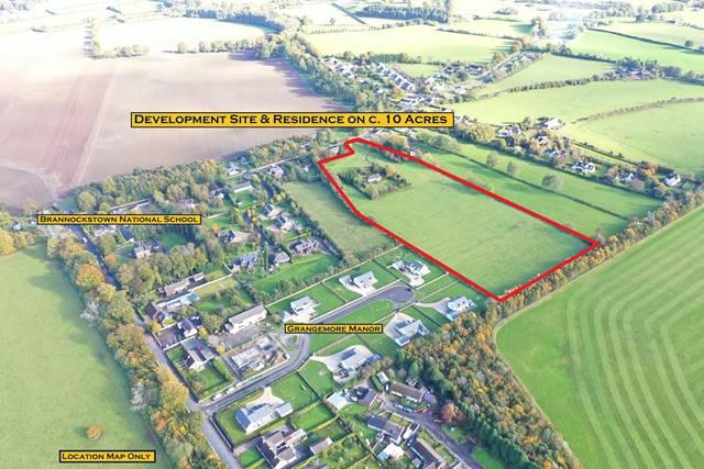Development Site & Residence on c. 10 Acres, Brannockstown, Co. Kildare