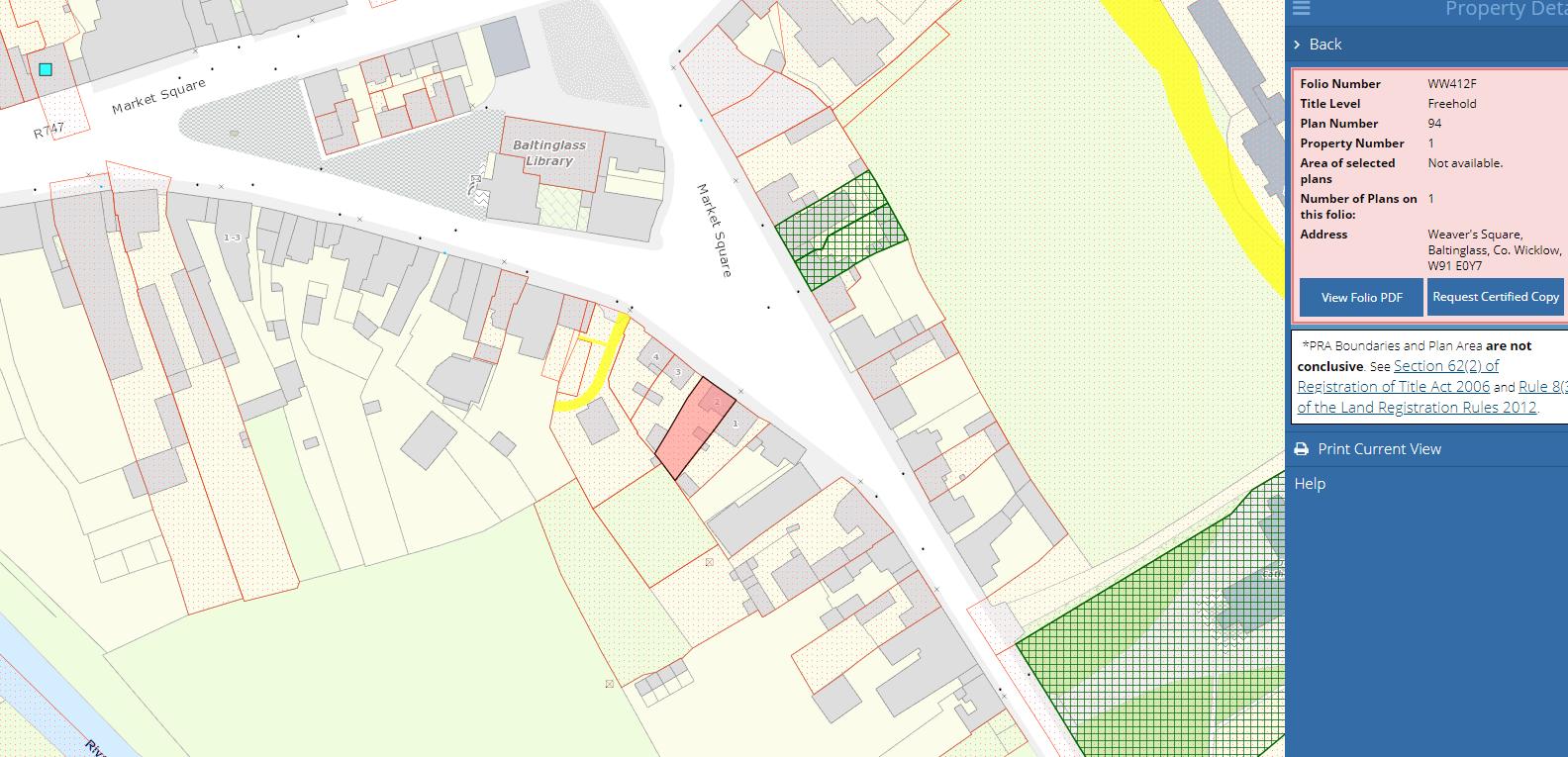 Weaver's Square, Baltinglass, Co. Wicklow