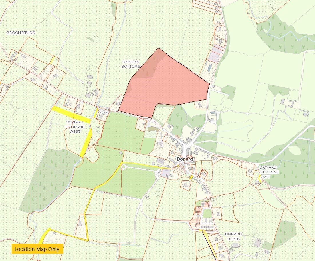 Development Land c. 18.5 Acres / 7.5Ha, Donard Village, Donard, Co. Wicklow