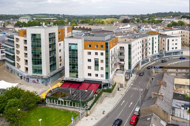 Railway Square, Castle Place, Waterford City