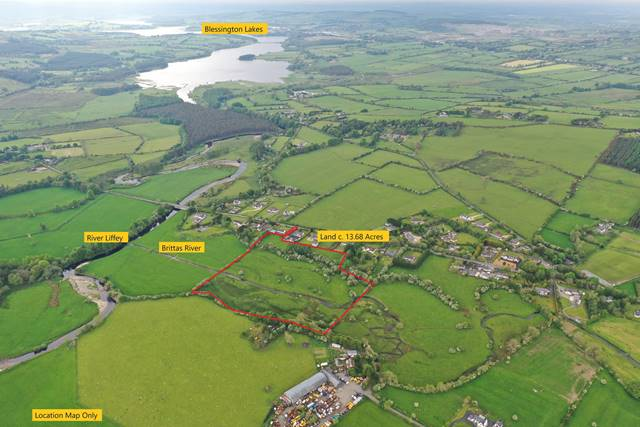 Land C. 13.68 Acres, Oldcourt, Manor Kilbride, Co. Wicklow