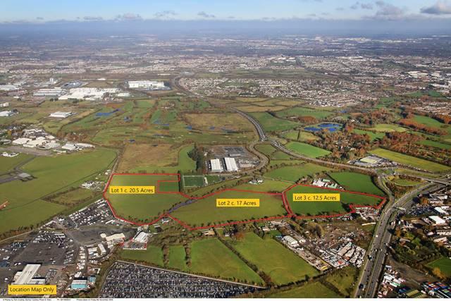 Landmark, High Profile Site, c. 50 Acres, Kingswood, Dublin 22