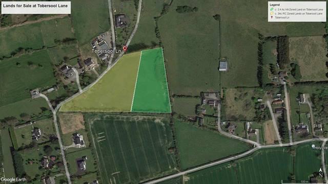 Lands at Tobersool Lane